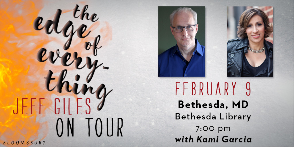 The Edge of Everything Tour with Jeff Giles