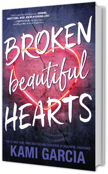 Bookcover: Broken Beautiful Hearts